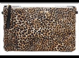 1951 Maison Leopard Clutch - size XL