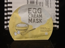 Egg Cream Mask