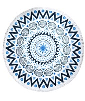 The Chesterman Round Towel by Tofino Towel Co.