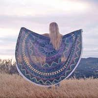 Daydreamer Round Blanket