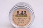 Tinker, Dicker & Doc Fir Travel Candle