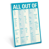 Knock Knock All Out Of Notepad
