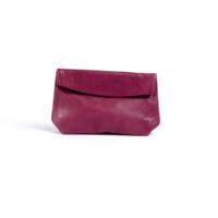 Repauste clutch small 6 x 4 in purple