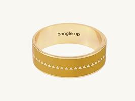 Bangle up Yellow Stud bracelet