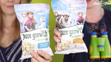 Pure Growth Organic White Cheddar Popcorn
