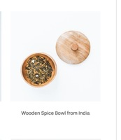 Wooden Spice Bowl