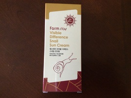 Farm Stay Visible Difference Snail Sun Cream