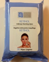 Global Beauty Care Makeup Cleansing Wipes with RETINOL