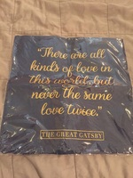 Gatsby pillowcase