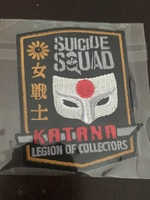 Legion of Collectors Katana patch - July 2016