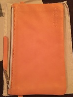1951 Large Peachy/Coral Clutch