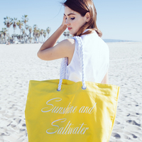 Trina Turk Canvas Tote - Sunshine and Seawater