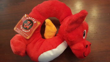 BarkBox Plush Dragon Dog Toy