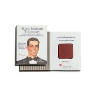 theBalm Cosmetics Meet Matt(e) Trimony Eyeshadow in Matt Kumar or Matt Moskowitz