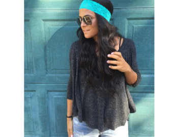Thin Lace Stretch Headband
