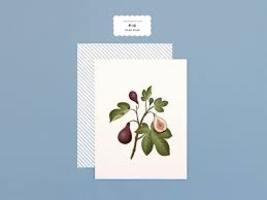 Botanical Scented Card-Fig