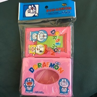 Doraemon tissue cover and tissue set