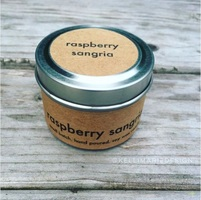Kelli Marie Hand Poured Soy Wax Candle - Raspberry Sangria