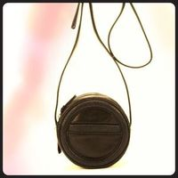 Charlotte Ronson round leather purse