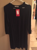 Hayworth Detached Colkar Dress- small
