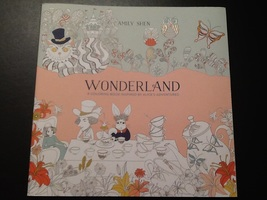 Wonderland, a coloring book