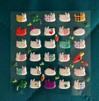 Stickii Club Fluffy Bunny Stickers