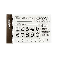 Numbers Stamp Set
