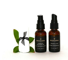 Biodara Luminous Cleansing Oil & Immortal Mist Traveler Set