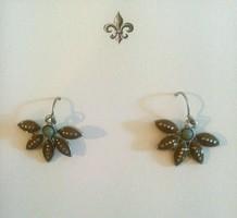 Enamel Botanical Earrings
