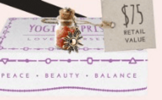 Sun Salutation Cork Bottle Necklace with healing Pink Aventurine stones