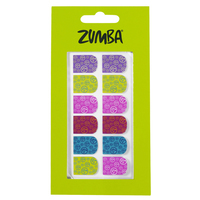 Zumba nail decals (purchased with zumba gift card)