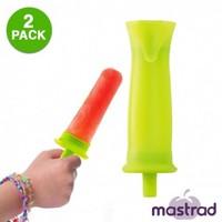 2-Piece Mastrad Silicone Ice-Pop Mold Set