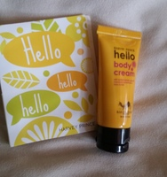 Harvey Prince Hello Body Cream and Perfume Sample