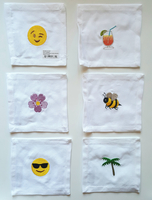 House of Pom Emoji Cocktail Napkins