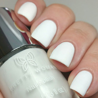 White Ceramic Nail Lacquer by Pretty Woman