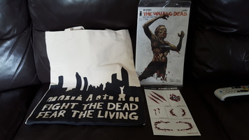 Walking Dead Tote, Comic, Tattoos