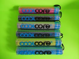 Chill core chill tube cooling towel - black
