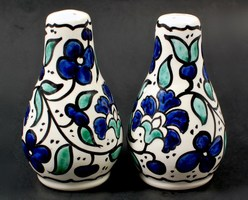 Hand painted salt & pepper shakers