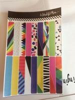Washi stickers - July 2016