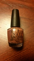 O.P.I. Nail Lacquer Shimmery Bronze Color