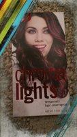 chroma lights metallic red temporary hair color spray 1.5 oz
