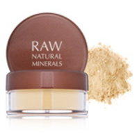 Raw Natural Beauty Raw Natural Minerals Active Mineral Foundation Light 3 color