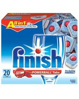FINISH All in 1 POWERBALL Tabs - Fresh Scent: 20 Count