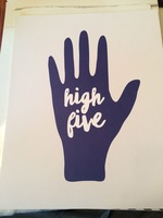 High Five print