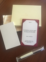 Graphic Image Jotter cards and pen
