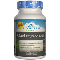 Ridgecrest Herbals ClearLungs Sport Supplement
