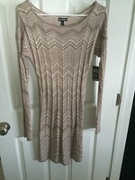 Gold Dress NWT