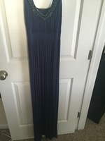 Soprano Blue Maxi Dress (S)