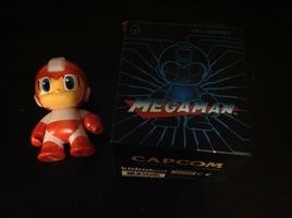 Kidrobot Mega Man Red Variant Figure
