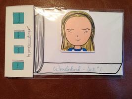 Wonderland Bookmark Set #1